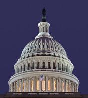 The dome of the US Capitol building. Français : Image panoramique du dôme du Capitole des États-Unis d'Amérique|