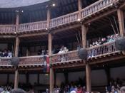 The pit and upper levels of the reconstruction of the Globe