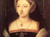 Catherine's mother, Mary Boleyn, was the sister of Anne Boleyn and a mistress of King Henry VIII of England.