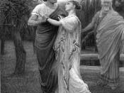 Troilus and Cressida in Pandarus' orchard
