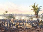 English: Battle of Veracruz during the Mexican-American War Русский: Осада Веракруз во время Американо-Мексиканской войны 1846-1848 гг.