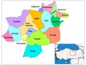 Location of Divriği within Turkey.