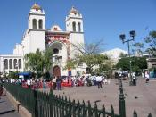 The rebels assembled in this town square by the then St. Dominic Church.