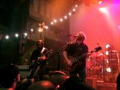 Dan Auerbach and the Fast Five playing the House of Blues in New Orleans, Louisiana, on November 18, 2009.