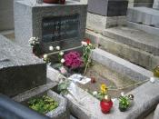English: Jim Morrison's grave in Paris, France. Dansk: Jim Morrisons grav i Paris, Frankrig.