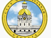 Official seal of City of Savannah