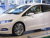 English: Honda Insight Concept photographed in Honda Welcome Plaza Aoyama