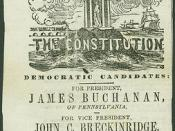 Democratic Candidates: Buchanan & Breckinridge