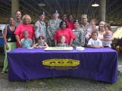 Army Community Service celebrates 43rd birthday with community barbecue