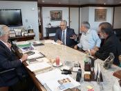 Governador Jaques Wagner recebe prefeitos e deputados de municipios baianos