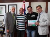 Jaques Wagner, Governador, realiza audiencia com Domingos Leoneli, SETUR e dirigentes da ANS-Associação Nordestina de Surf
