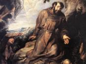 St Francis of Assisi Receiving the Stigmata