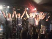 English: Primal Fear performing live at The Garage in London, 25th September 2009