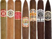 English: Cigar Wrapper Color Chart