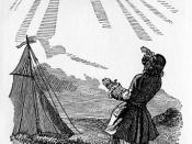 Česky: Laputa z Gulliverových cest, ilustrace