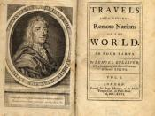 First edition of Gulliver's Travels by Jonathan Swift (1726)