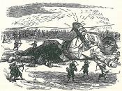 illustration of Jonathan Swift's novel Gulliver's Travels by Grandville