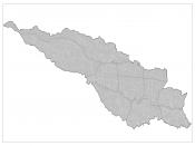 English: Map of the barrios of San Jose, Costa Rica.