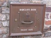 Barclays - South Street, Dorchester - Night Safe