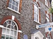 Barclays - South Street, Dorchester - Thomas Hardy blue plaque - Mayor of Casterbridge