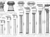Die klassischen Säulenordnungen der Antike