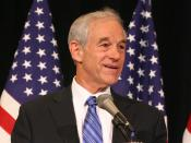 Ron Paul at the 2007 National Right to Life Convention, held at Crown Center Hyatt Regency in Kansas City, MO; June 15, 2007,