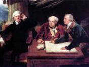 English: Francis Baring (1740-1810) (left), together with John Baring and Charles Wall