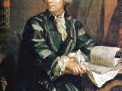 Leonhard Euler (1707–83), one of the most prominent scientists in the Age of Enlightenment