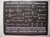 The Grand Challenge Equations: San Diego Supercomputer Center