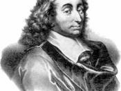 Blaise Pascal first explained his wager in Pensées (1669)