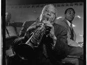 [Portrait of Sidney Bechet, Freddie Moore, and Lloyd Phillips, Jimmy Ryan's (Club), New York, N.Y., ca. June 1947] (LOC)