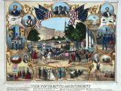 1870 celebration of the Fifteenth Amendment as a guarantee of African American voting rights