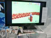 Mario 64 and a Nintendo 64 controller