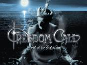 Album cover of Legend of the Shadowking by Freedom Call.
