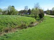 English: The Motte and Bailey site in Manor Farm Ruislip.