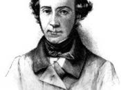 Photogravure of Charles Alexis Henri Clérel de Tocqueville