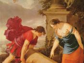 Theseus and Aethra, by Laurent de La Hyre