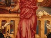 Helen of Troy by Evelyn de Morgan (1898, London); an incarnation of the Ennoia the Simonian system.