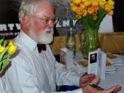 English: writer Robert Fulghum, International Book Fair - BOOKWORLD PRAGUE 2007 Česky: spisovatel Robert Fulghum, autogramiáda na pražském knižním veletrhu Svět knihy 2007
