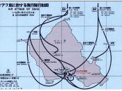 Pearl Harbor bombings map