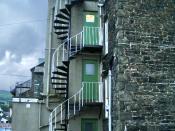 English: Spiral staircase