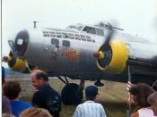257.  What if I am a Fuddy Duddy? Air Show Brunswick  NAS B-17