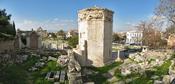 Tower of the Winds at Athens. Français : La Tour des Vents, à Athènes.