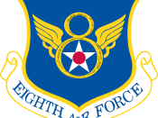 Emblem of the 8th Air Force of the United States Air Force