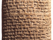 EA 161, letter by Aziru, leader of Amurru, (stating his case to pharaoh), (note paragraph divisions).