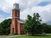 English: Gilead Lutheran Church in Brunswick, New York, United States