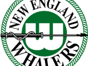 New England Whalers logo 1972-1979