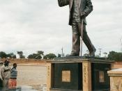 Deutsch: Denkmal für Unabhängigkeitsführer und späteren Staatspräsidenten von Malawi Hastings Kamuzu Banda in Lilongwe