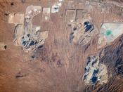 Open Pit Mines, Southern Arizona 2010-01-14 IISS022-E-26137
