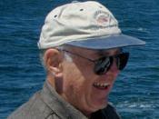 Gordon Moore on a fishing trip
